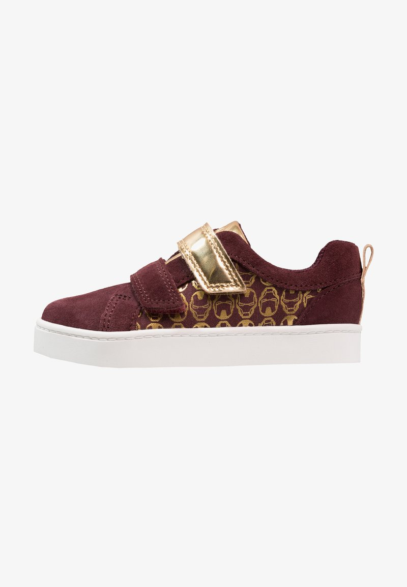 MARVEL / Clarks - MARVEL CITY HERO LO - Trainers - red