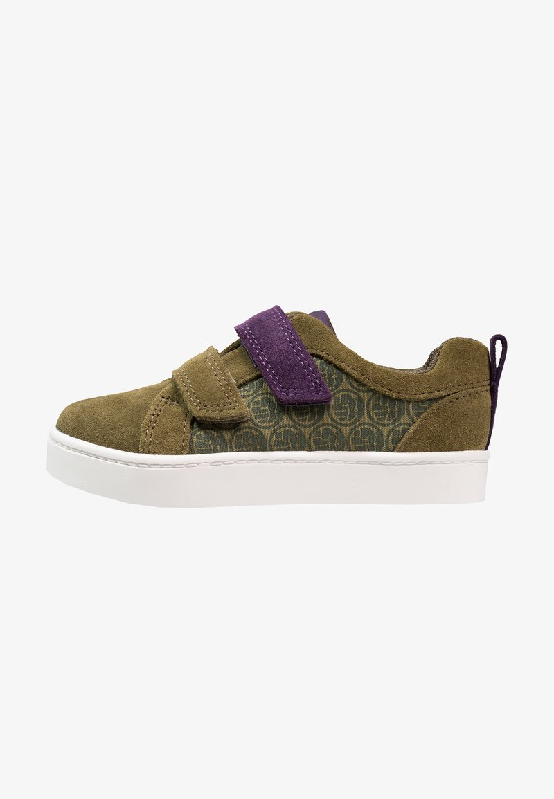 MARVEL / Clarks - MARVEL CITY HERO LO - Trainers - green