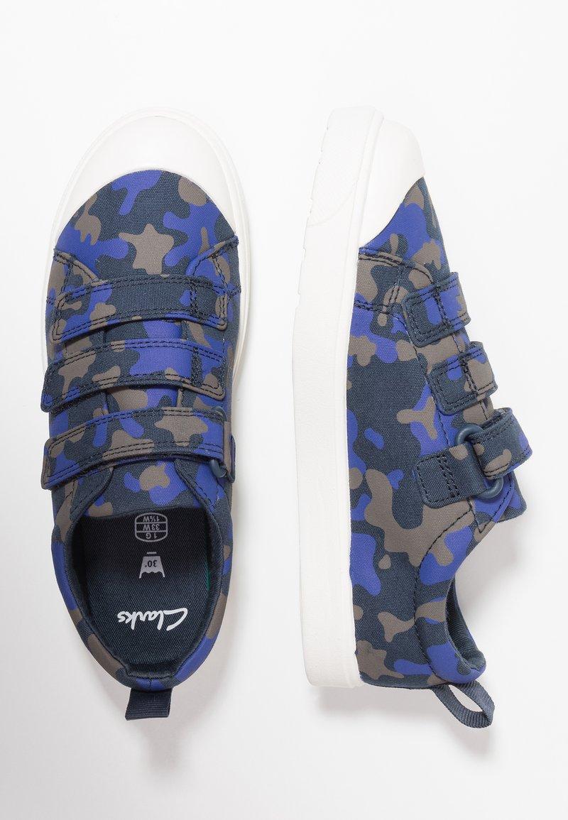 Clarks - CITY FLARELO - Sneakersy niskie - navy