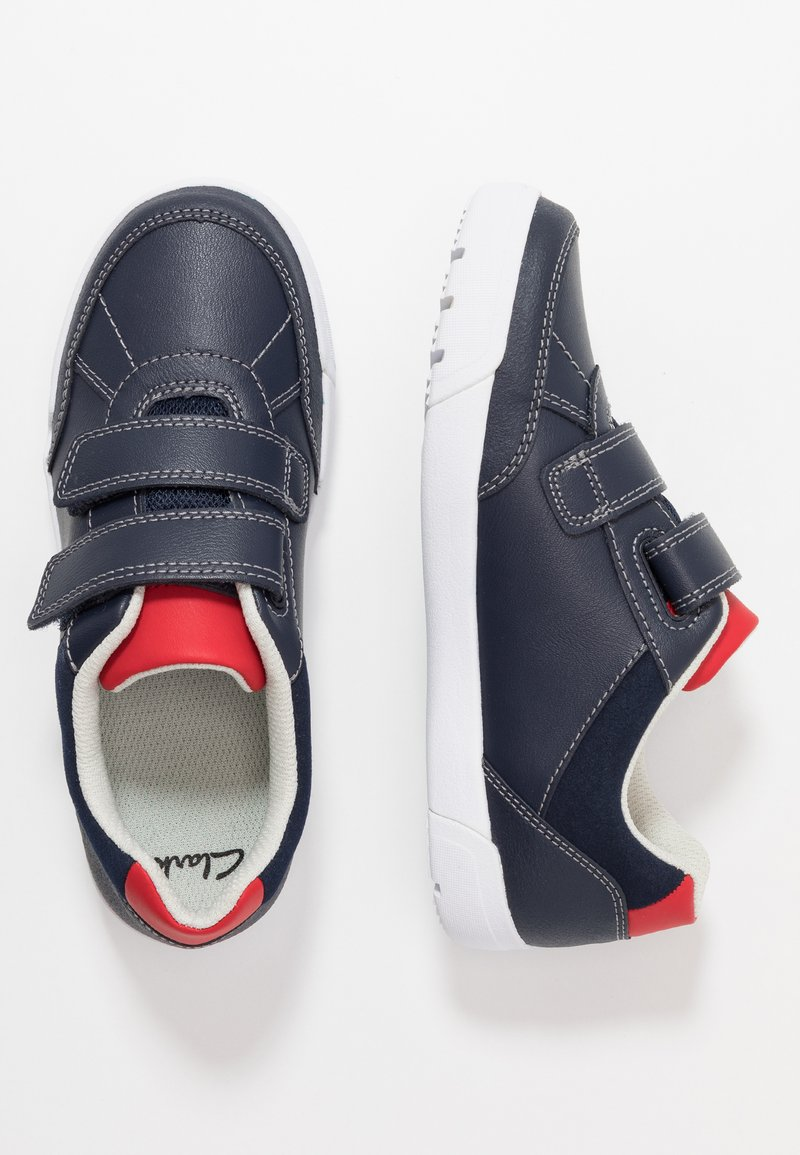 Clarks - EMERY SKY - Matalavartiset tennarit - navy