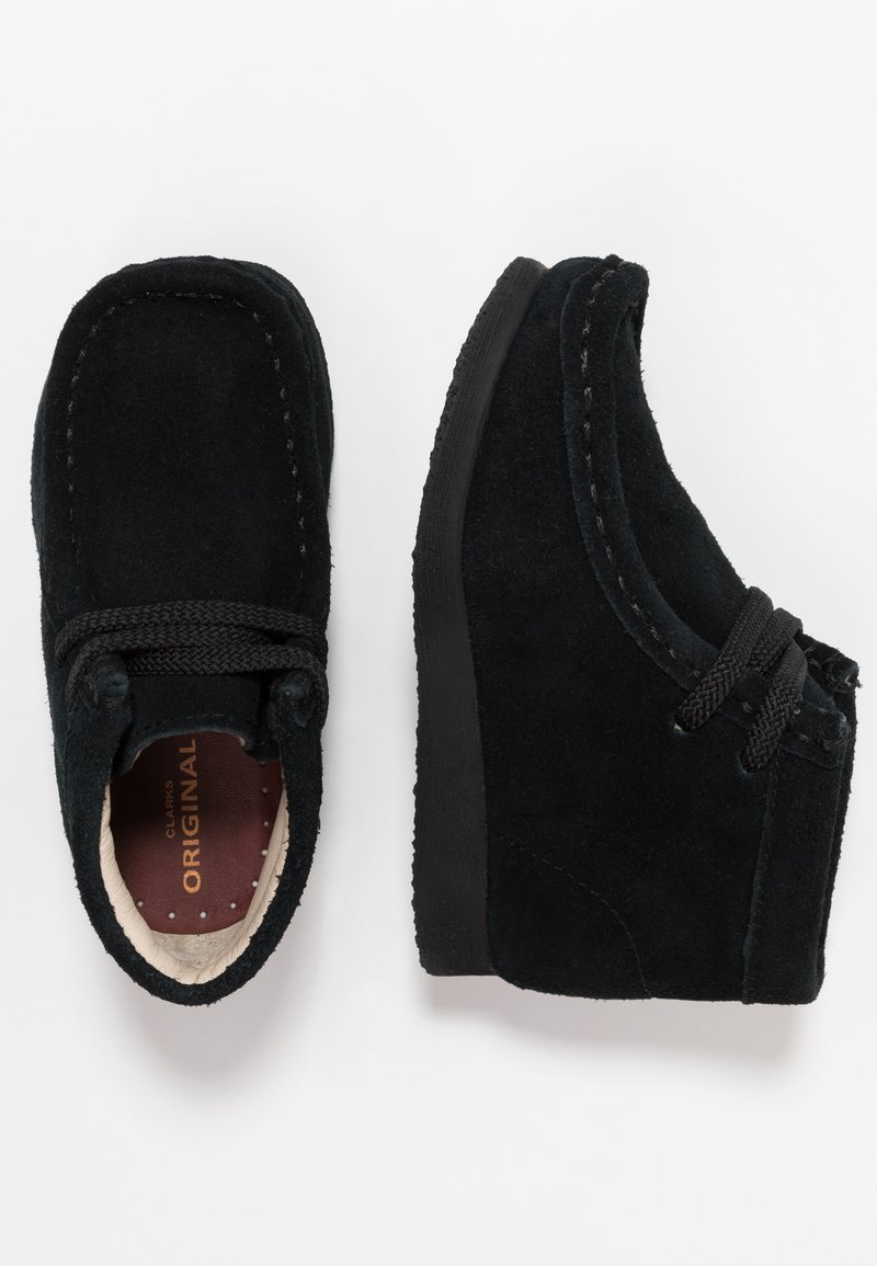 Clarks - WALLABEE - Casual lace-ups - black