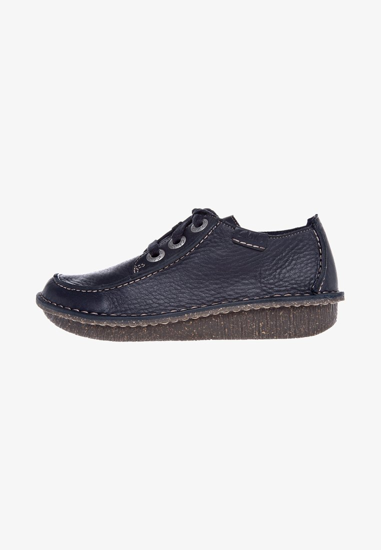 Clarks - FUNNY DREAM - Casual lace-ups - navy