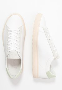 Clae - BRADLEY - Trainers - white/mint terry - 1