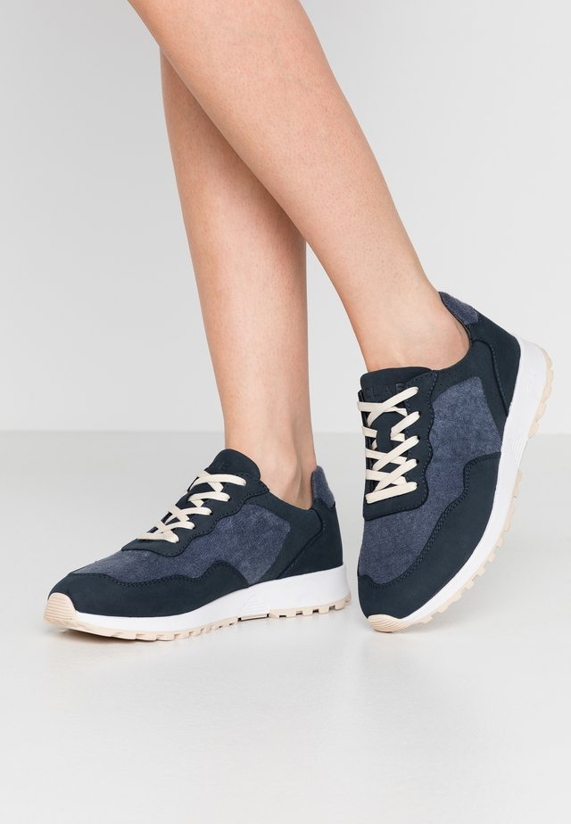 ELLA - Sneakers - deep navy/terry