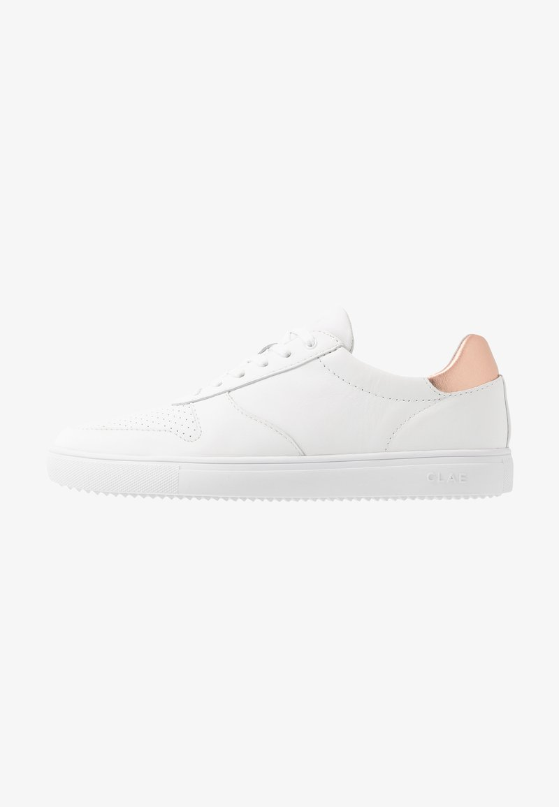 Clae - ALLEN - Trainers - white/rose gold