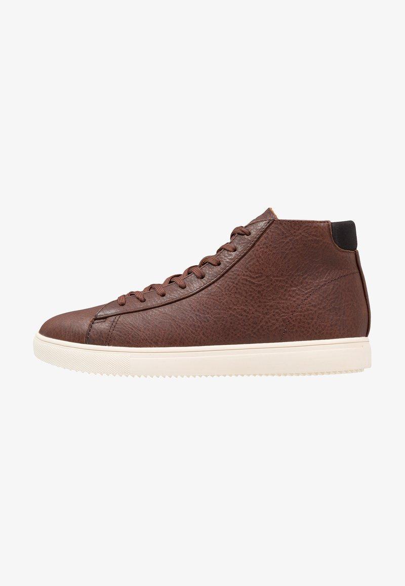 Clae - BRADLEY MID - Sneakersy wysokie - redwood canvas