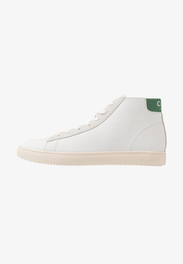 BRADLEY MID - High-top trainers - white/comfrey