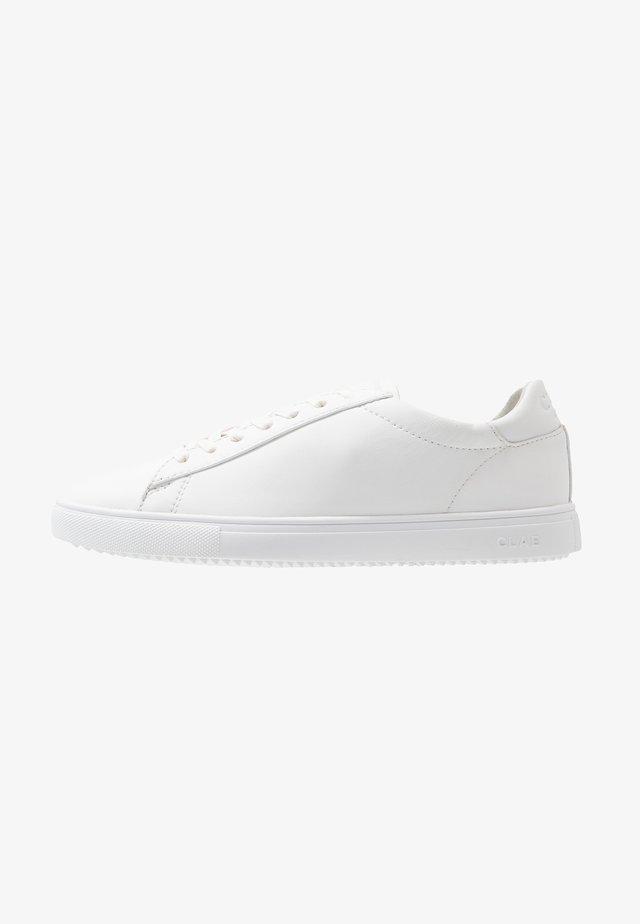 BRADLEY - Sneakersy niskie - triple white
