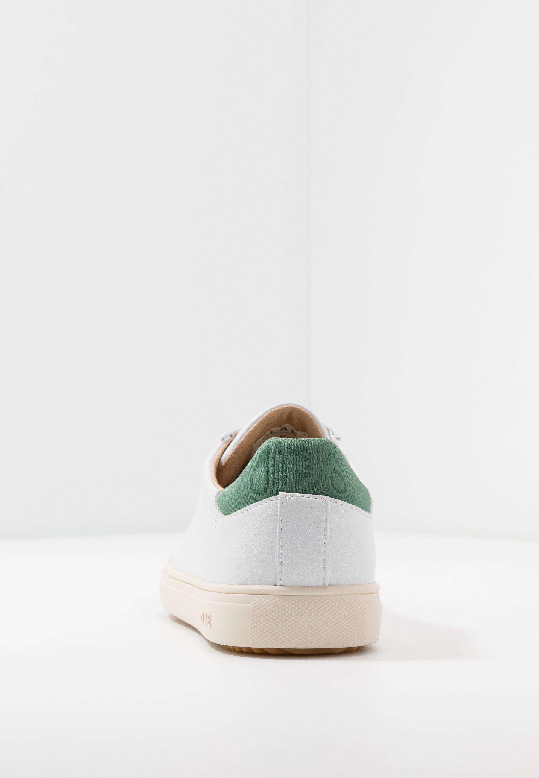 Clae BRADLEY VEGAN - Baskets basses - white/olive