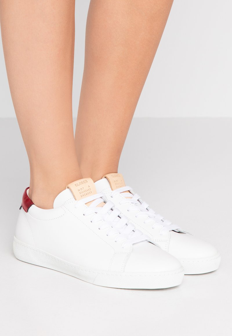 CLOSED - GINGER - Trainers - white