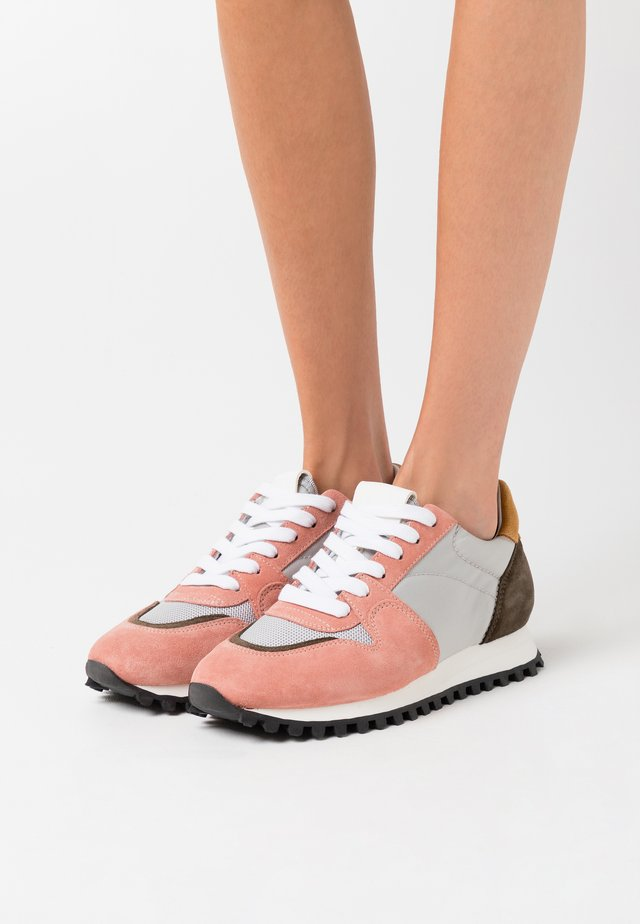PEPPER - Sneakersy niskie - light grey melange