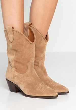 ANISE - Cowboy-/Bikerboot - light brown