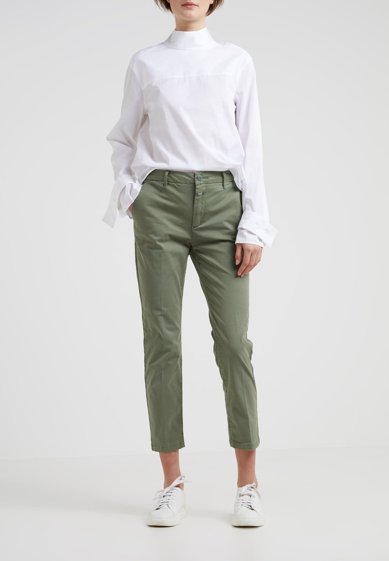 CLOSED - JACK - Chinos - grass green