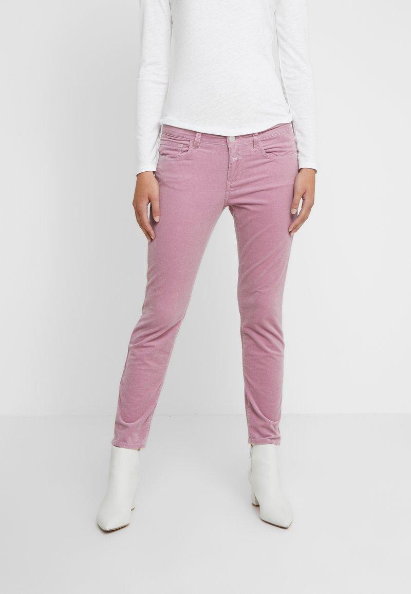 CLOSED - BAKER - Stoffhose - pink blush