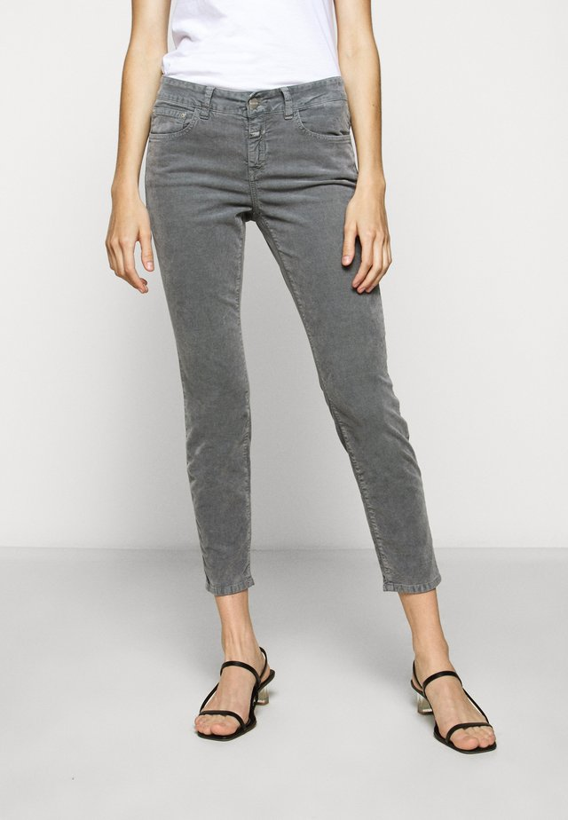 BAKER - Trousers - grey stone