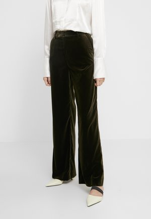 LYN - Suit trousers - sea tangle