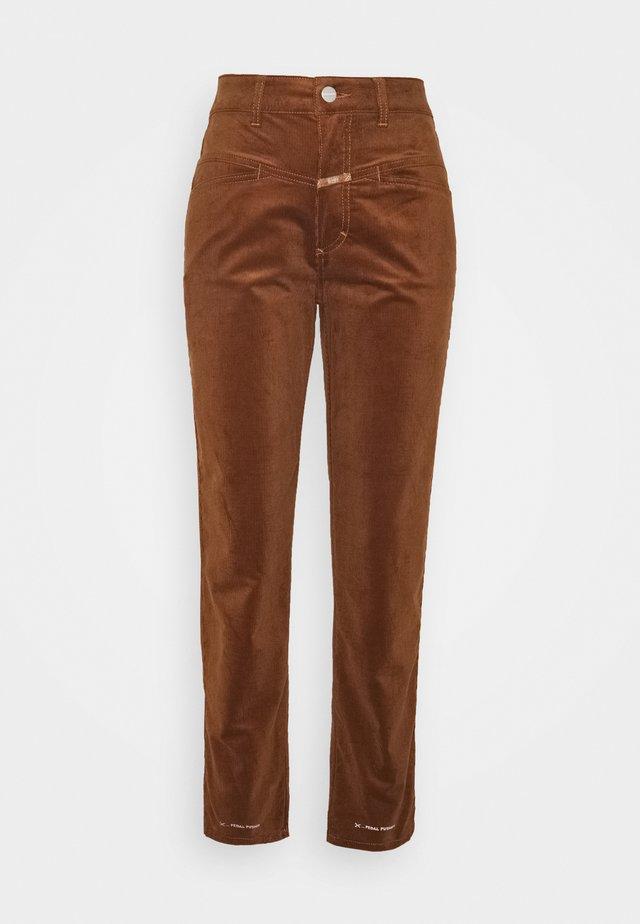 PEDAL PUSHER - Spodnie materiałowe - antique wood