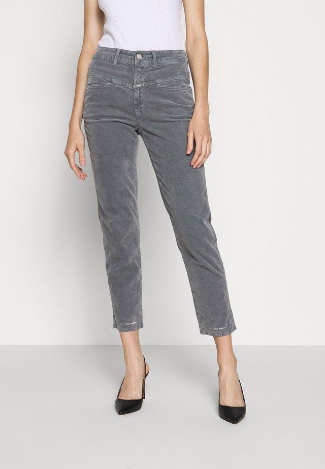 PEDAL PUSHER - Spodnie materiałowe - grey stone