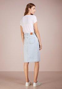 CLOSED - EMMETT - Pouzdrová sukně - light blue - 2