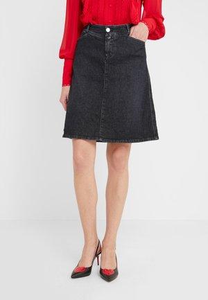 ROBINA - A-snit nederdel/ A-formede nederdele - dark grey