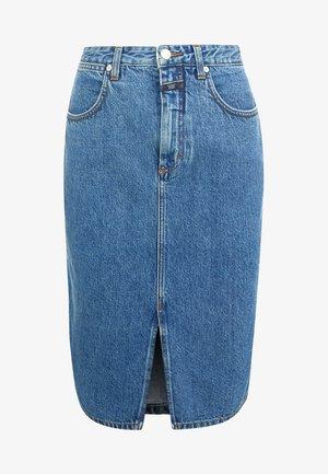 EMMETT - Pouzdrová sukně - mid blue