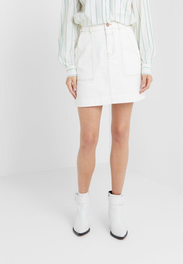 SELBY - Mini skirt - ivory