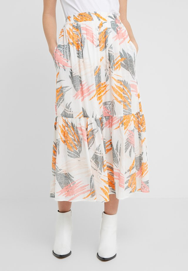 DEVI - A-line skirt - ivory
