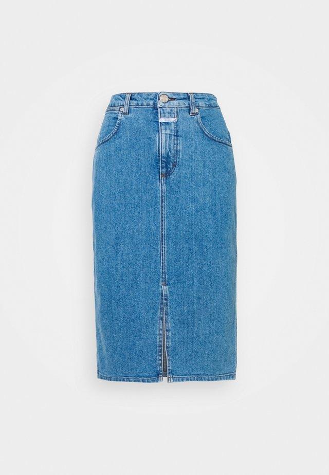 EMMETT - Pouzdrová sukně - blue