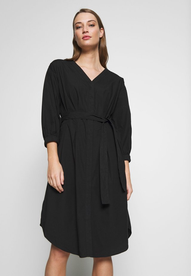 KADY - Shirt dress - black