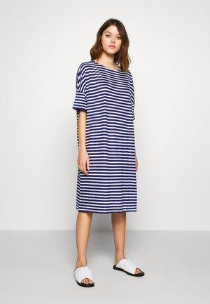 WOMEN´S DRESS - Robe en jersey - dark sea