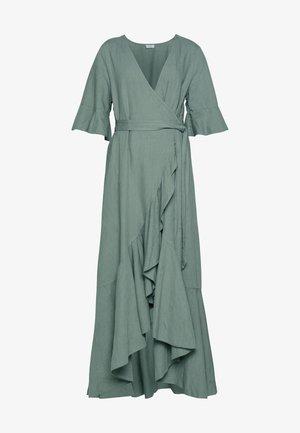 YELLA - Maxi šaty - dusty pine