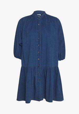 LINJA - Denim dress - mid blue