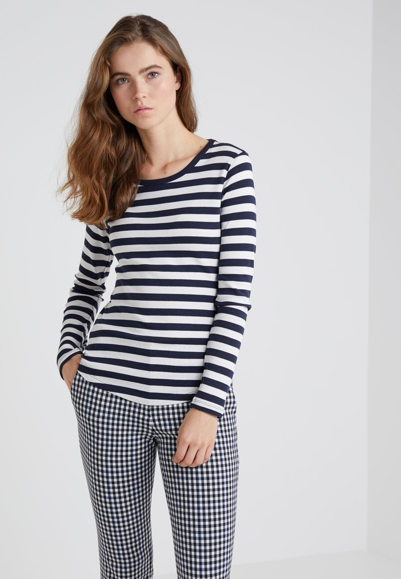 CLOSED - TOPBRUSHED  - Long sleeved top - blanched almond