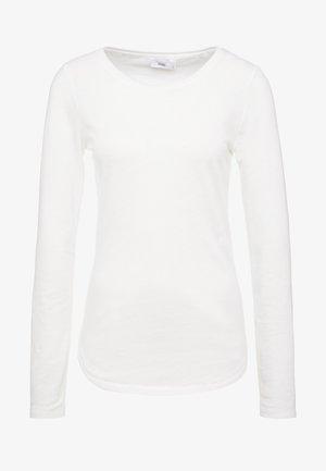 T-shirt à manches longues - ivory