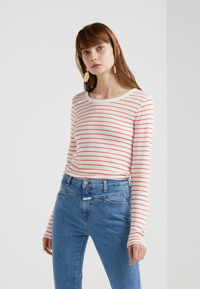 CLOSED - Long sleeved top - coral
