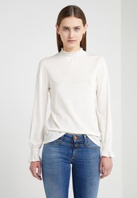 CLOSED - Langærmede T-shirts - blanched almond - 0