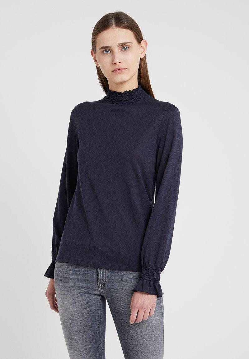 CLOSED - Long sleeved top - dark night