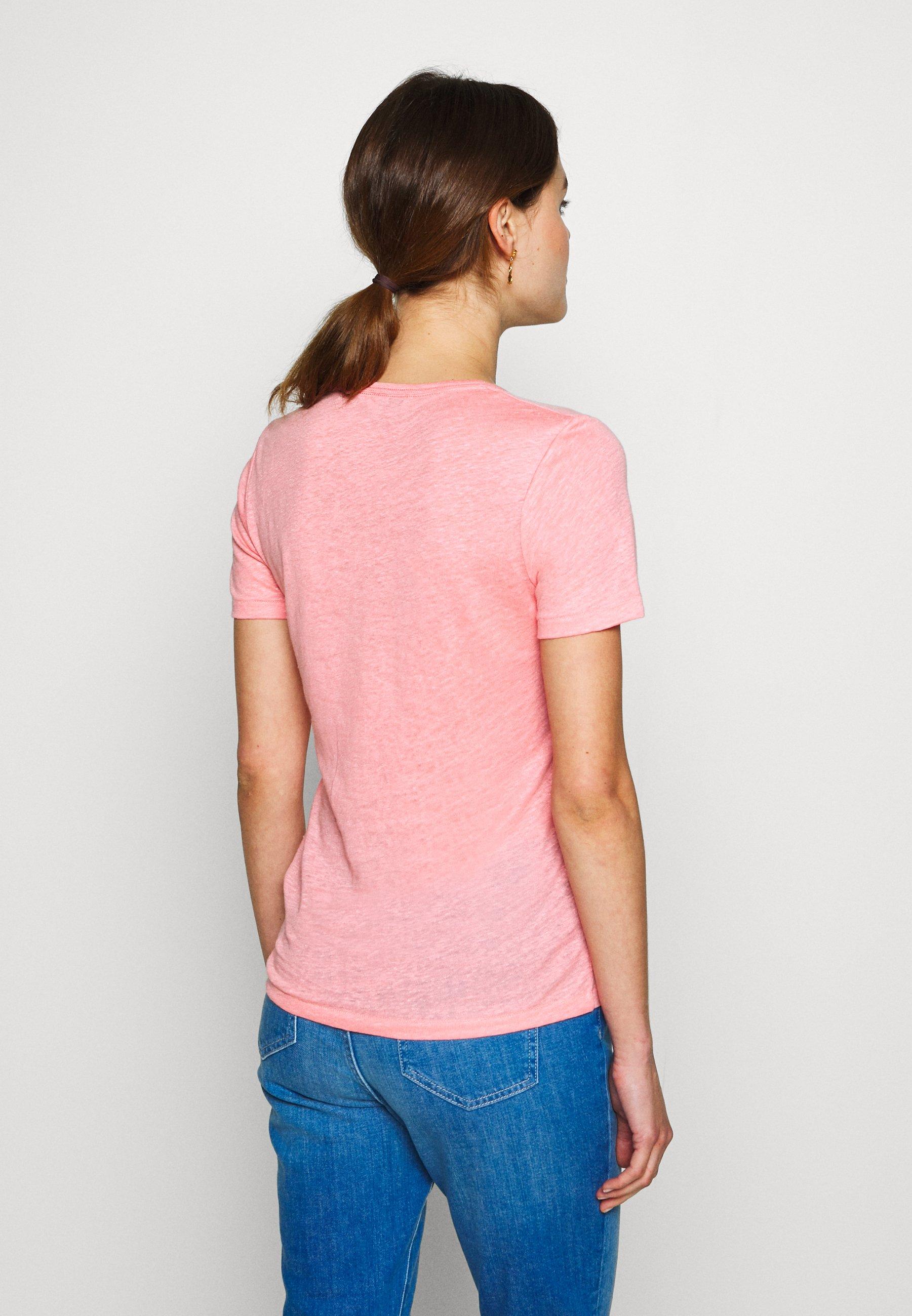 CLOSED WOMEN - T-shirt basic - camellia