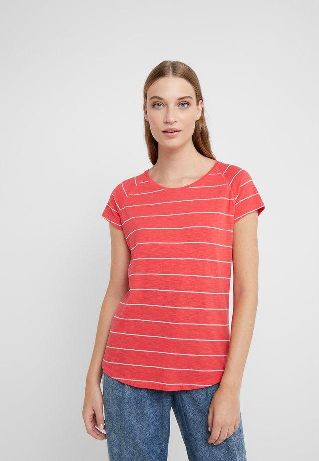 Print T-shirt - geranium