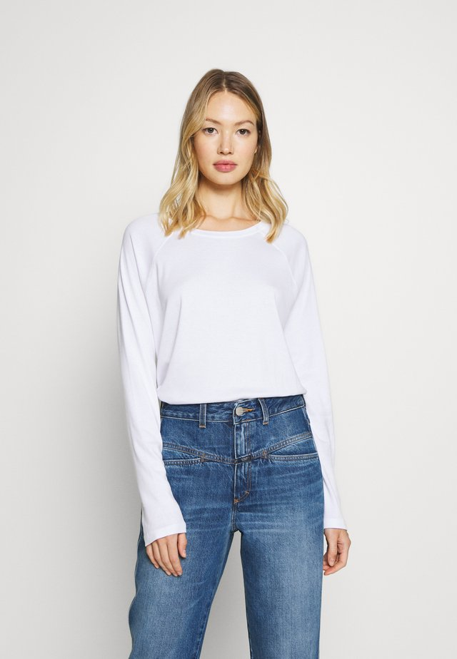 WOMEN´S TOP - Long sleeved top - white