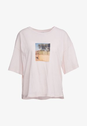 T-shirt print - soft pink