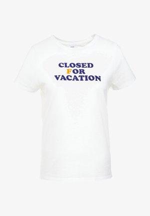 T-shirt imprimé - ivory