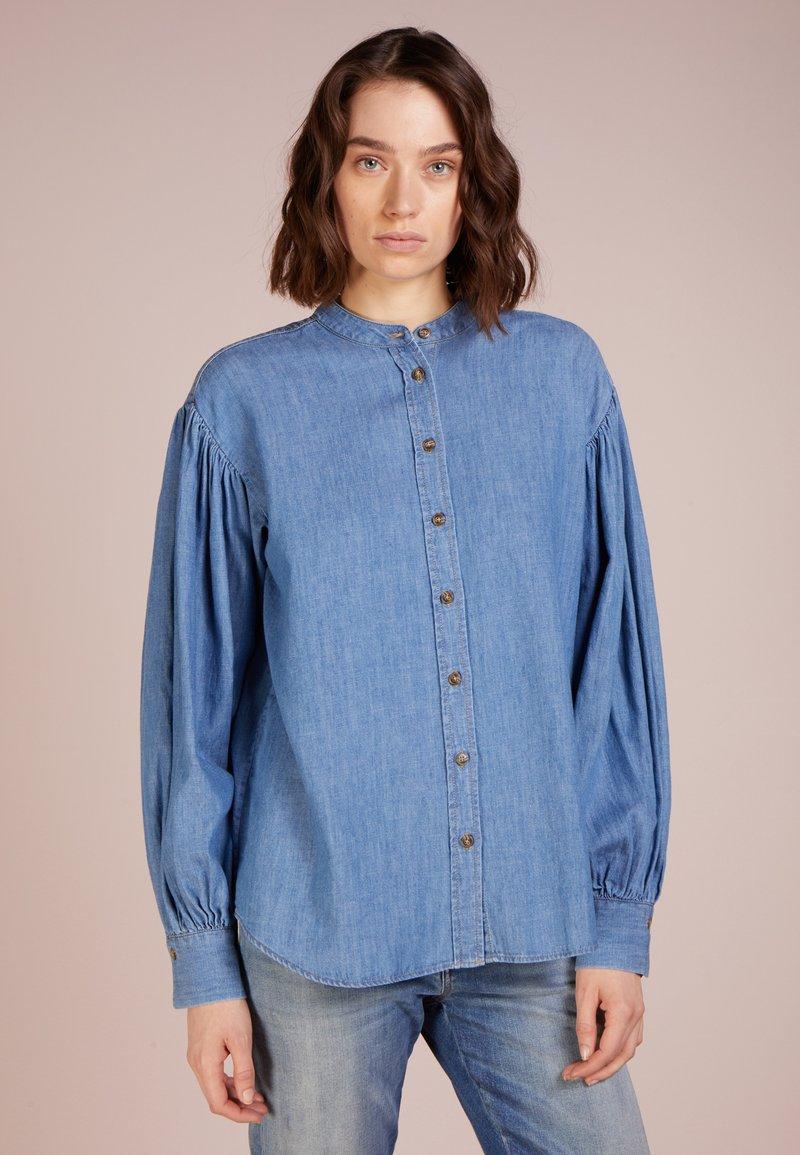 CLOSED - ADA - Camicetta - mid blue