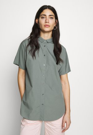 SENNA - Button-down blouse - dusty pine