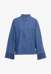 CLOSED - JERICHO - Button-down blouse - mid blue - 3