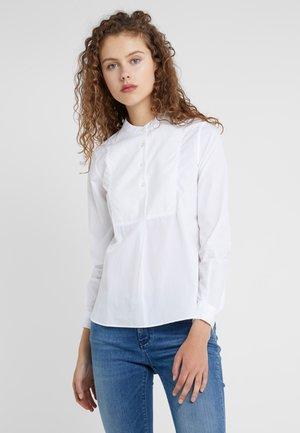 CINDY - Hemdbluse - white