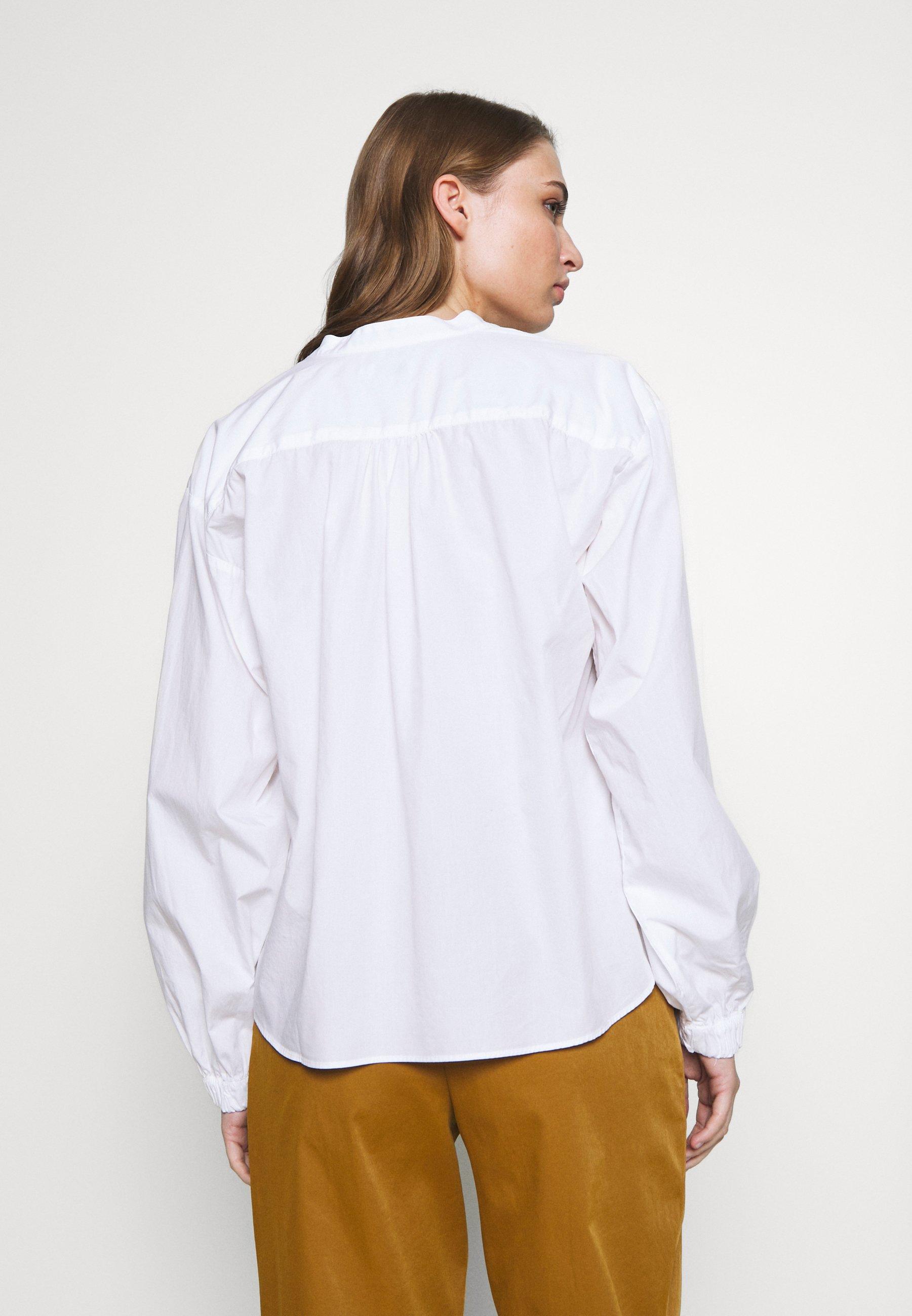 CLOSED NYA - Bluser - white