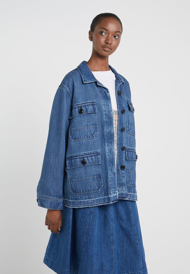CLOSED - DEAR - Veste en jean - mid blue