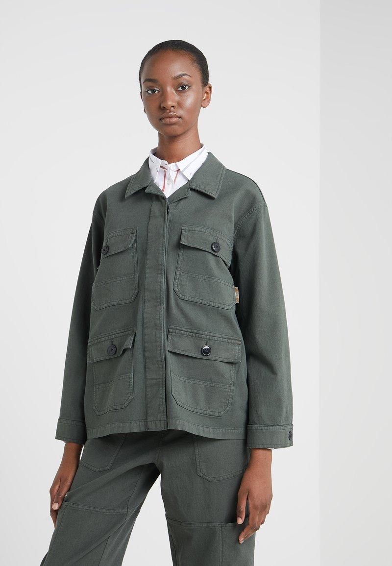 CLOSED - DEAR - Summer jacket - caper green