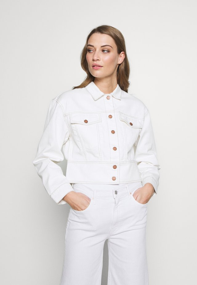 AMAYA - Jeansjakke - ivory